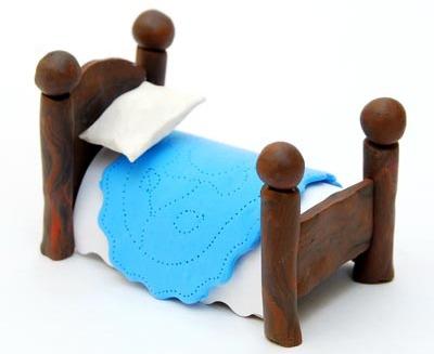 Как сделать мебель из пластилина